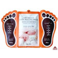 805721 MJ Care Педикюрные носочки + отшелушивающая маска для ног