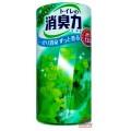115037_ST SHOSHU RIKI Жидкий освежитель воздуха для туалета (яблоко-мята), объем 400 мл