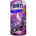 115020_ST SHOSHU RIKI Жидкий освежитель воздуха для туалета (лаванда), объем 400 мл