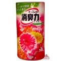 117031_ST SHOSHU RIKI Жидкий освежитель воздуха для туалета (розовые цветы), объем 400 мл