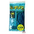 077442_TOWA Тонкие виниловые перчатки без покрытия внутри, размер M