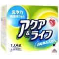 033006_DAIICHI АКВА ЛАЙФ Стиральный порошок с ферментами для всех видов ткани, вес 1 кг