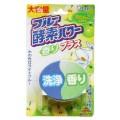 115907_ST BLUE OXYGEN POWER Кислородная таблетка для очищения и дезинфекции унитаза (зеленое яблоко)