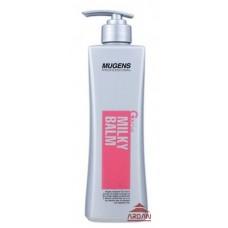 012122 MUGENS Milky Balm Молочный бальзам для волос (не требует смывания), объем 500 мл
