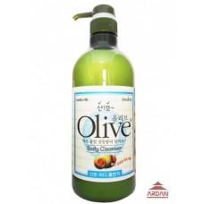 073322 Olive Body cleanser (for oil skin) Гель для душа с экстрактом оливы (для жирной кожи), объем 0,75 л