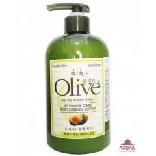 073605 Olive Body lotion (for dry skin) Лосьон для тела с экстрактом оливы (для сухой кожи), объем 0,4 л